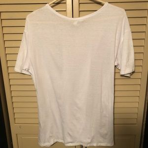 Forever 21 Tops - BNWT Lace-Up Corset Tee